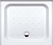 Coram Showers YD973WHI 900 x 760mm 3-Tiling Upstand Shower Tray