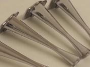 4 x CHROME FURNITURE FEET METAL FURNITURE LEGS FOR SOFAS, CHAIRS, STOOLS 170mm HIGH