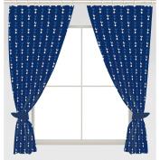 Tottenham Hotspur FC 170cm x 180cm Drop Polycotton Curtains Ready Made
