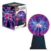 Global Gizmos Illumini 15cm Magic Plasma Ball with Sound and Touch Activiation