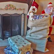 Traditional X Large Hessian Santa Sacks Stockings Christmas Xmas Gifts Presents