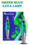 ABC New Funky Motion Lava Lamp Novelty Light, Green/ Blue