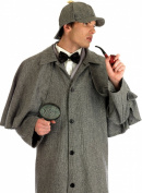 Fun Shack Adult Sherlock Holmes Costume - LARGE