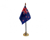 6x New Zealand Hand Table or Waving Flag Country All Blacks Party Pack - No Bases
