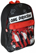 ONE DIRECTION 1D LARGE DELUXE SCHOOL COLLEGE UNI BACKPACK SHOULDER RUCKSACK BAG