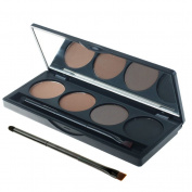 KingMas 4 Colour Trendy Makeup Eyebrow Powder Brow Powder Makeup Palette