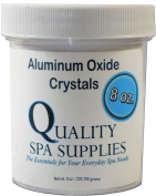 Aluminium Oxide Crystals - Microdermabrasion Crystals - 120 Grit, Pure White, 240ml