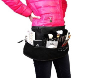 LOUISE MAELYS Professional Makeup Artist Apron Bag Cosmetic Brush Fanny pack Belt Strap Holder