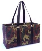 """MDM Large Utility Tote Bag, Organiser, Laundry Bag """"Woodland Camouflage & Black"""""""