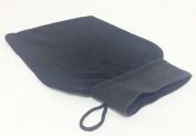 Royal Moroccan Hammam Kesse Exfoliating Bath Glove (Black) by Givereldi