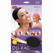 (3 Pack) Qfitt - Lady Durag #141
