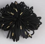 Cuhair(tm) Women' Elastic 10pcs(6cm) Ponytail Holder Metal hair band Hair Tie Hair Rope Accessories