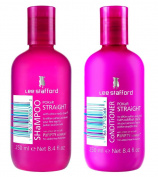 Lee Stafford Poker Straight Shampoo & Conditioner Duo 2 x 250ml