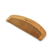 Dealglad 15cm 5.9inch Length Handmade Retro Natural Peach Wooden Antistatic Hair Comb