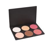 Goege 6 Colour Makeup Cosmetic Contour and Blush Palette