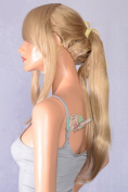 Epic Cosplay Ash Blonde Pre-Styled Ponytail Wig