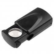 Skycoolwin 30 X 21mm LED Pocket Microscope Jeweller Magnifier Glass Loupe