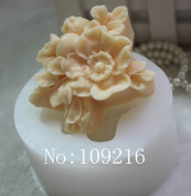 Creativemoldstore 1pcs Pomegranate Flowers (zx0103) Craft Art Silicone Soap Mould Craft Moulds DIY Handmade Soap Mould