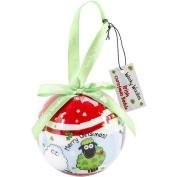 Dublin Gift NOM143126 Wacky Woollies Christmas Ornament