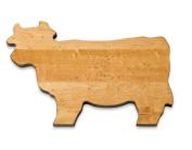 J.K. Adams 36cm -by-25cm Maple Wood Cutting Board, Cow-Shaped