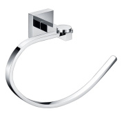 Comfort's Home TR6002 Towel Holder, Bathroom Wall Mounted Towel Ring, Towel Holder Ring in Chrome
