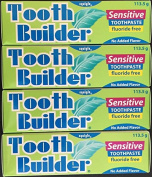 Squigle Tooth Builder Sensitive Toothpaste - 4 Pack