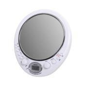 Jensen Jwm-150 Am/Fm Alarm Clock Shower Radio With Fog Resistant Mirror