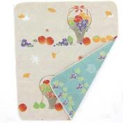 Japanese Hand Towel Fruit Basket 90cm X 34cm Cool Kimono Design Print