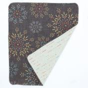 Japanese Hand Towel Fire Flower 90cm X 34cm Cool Kimono Design Print