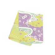 Japanese Handkerchief Wash Towel Sakura15.18cm X 34cm Cool Kimono Design Print