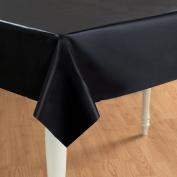 Creative Expressions - Plastic Tablecover 140cm x 270cm - Black Velvet