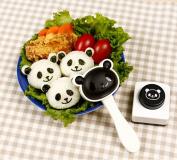 Funny Panda Shape Sushi Maker Rice Ball Onigiri Mould Mould + Nori Punch DIY Bento