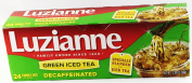 Luzianne Green Iced Tea Decaffeinated Family Size 24 Tea Bags