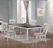 5 pc Andrews Dining Set in Antique White