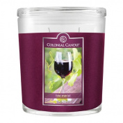 Colonial Candle 650ml Scented Oval Jar Candle, Fine Merlot