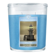Colonial Candle 650ml Scented Oval Jar Candle, Harbour Mist