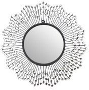 Lulu Decor, Celebration Wall Mirror, Decorative Mirror, Frame Size 60cm , Perfect for Housewarming Gift