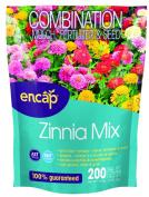 Encap 10806-6 Zinnia Cut Flower Mix, 0.9kg