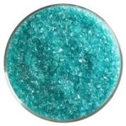 0.5kg Bullseye Medium Frit - 90 Coe - Light Aqua Blue Transparent