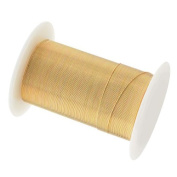 Tarnish Resistant Copper Wire 28 Gauge 40 Yard (36.5m) Gold Colour