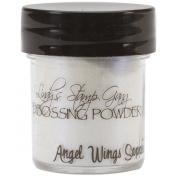 Lindy's Stamp Gang 2-Tone Embossing Powder, 15ml Jar, Angel Wings Sapphire