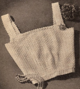Vintage Crochet PATTERN to make - Lacy Camisole Top Blouse Shell. NOT a finished item. This is a pattern and/or instructions to make the item only.