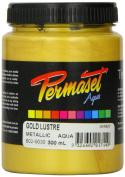 Standard Cover Screenprinting Ink - Gold Lustre Permaset Aqua Fabric Magic 300ML