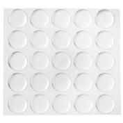 Klove Us 200-piece Epoxy Stickers for Bottle Cap Pendants, 2.5cm , Clear