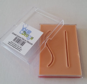 Simple Suture Pad w/ Wounds (9x7cm) (Light Skin) - Your Design Medical
