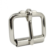 Springfield Leather Company Nickel Plate 3.2cm Roller Buckle