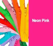 36cm YKK Zipper #3 Skirt & Dress Zippers Colour Neon Pink
