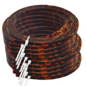 10pcs Brown Celluloid Acoustic Guitar Binding Purfling Strip 1.5m 4mm x 1.5mm