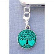 Charm Tree of Life Cell Phone Charm, Dust Plug-3.5mm, Unique Cell Phone Charm, Headphone Jack Charm , Phone Charm Dust Plug,charm Dust Plug for Iphone 3,iphone4,iphone 4s ,Iphone 5,iphone 5s,iphone 6, for Samsung S3, for Samsung S4, for Samsung S5 ,Note 2