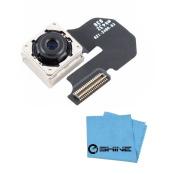EShine® Rear Back Main Camera Module Flex Cable Replacement for Iphone 6 4.7 A1549 (GSM), A1549 (CDMA) , A1586 , A1589 + EShine Cloth